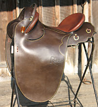 Randy Bird Signature Saddle by Toowoomba Saddlery